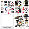Party Props Photo Booth Fun Selfie Moustache Lips on Stick Wedding Supplies