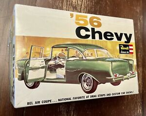 RARE Vintage Revell 1956 Chevy 1:25 Scale Model Kit H-1273 Complete 1964 U.S.A.