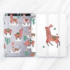 Llama Animal Cute Alpaca Cactus Case For iPad 10.2 Air 3 Pro 9.7 10.5 12.9 Mini