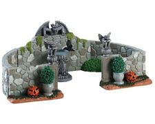 Lemax Grey Gargoyle Gardens, Spooky-Town, Halloween, Gruseldorf