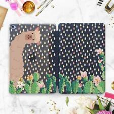 Alpaca Cactus iPad Pro 11 12.9 2018 Case Llama Floral Cute iPad 6 Mini 4 5 2019
