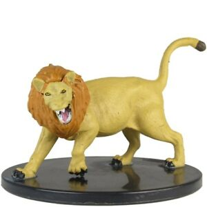 Lion Miniature #29 of 44 D&D Waterdeep Dragon Heist Icons of the Realms