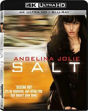 SALT (Angelina Jolie)  (4K ULTRA HD Atmos)- Blu Ray - Sealed Region free