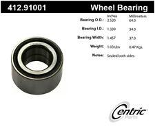 Wheel Bearing-Premium Bearings Centric 412.91001