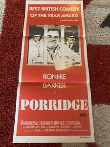 VINTAGE ORIGINAL Day Bill Cinema Movie Poster Porridge Ronnie Barker Comedy