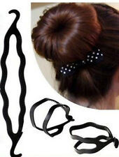 QWIKBUNS MAGIC HAIR STYLING BUN MAKER SIMPLE EASY VOLUMISING GRIP CLIP BAND