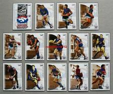 Mint 2002 AFL Select Exclusive Trading Cards Western Bulldogs Set 14 Cards