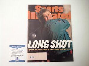 John Daly Signed Full No Label Sports Illustrated SI Beckett BAS COA a