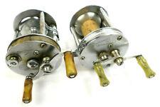 2 Vtg Level Winding Reels: Shakespeare Wondereel Model HB; Sportsman Model B