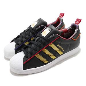 adidas Originals Superstar CNY 2021 Black Gold Red White Men Unisex Shoes S24184