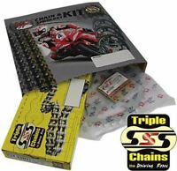 Honda CBR 125 R Chain and Sprocket Kit Heavy Duty Triple S 2011-16