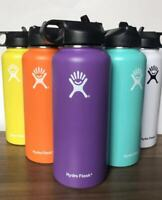 32OZ|Hydro Flask|Water Bottle Stainless Steel & Vacuum Insulated with Straw Lid