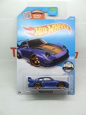 Porsche 993 911 GT2 en azul metálico Race 4/10 Hw Showroom como nuevo tarjeta de largo