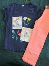 NWT 10 Gymboree Wildflower Weekend Dragonfly Shirt Tea Collection Capri Leggings