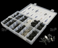 350x Car Body Plastic Push Pin Rivet Fastener Trim Moulding Clip Assortment Set