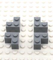 LEGO 4211349 Part 1x2x2 Brick Corner X4 Light Grey 2357