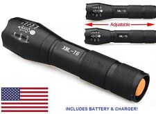 Military Grade Tactical Flashlight G700 Style LED 1600 Lumens 2000x Water Resist