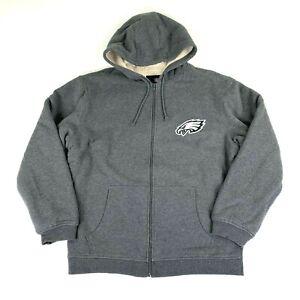 NWOT NEW Pro Line Philadelphia Eagles Fleece-Lined Hoodie Hooded Sweatshirt Rare