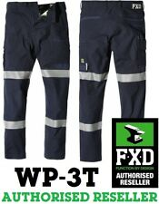 FXD WP-3T Work Pant Reflective Taped Navy RRP 109.99 - FREE POST