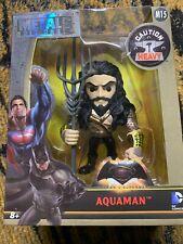 """Jada Toys Metals Batman v Superman 4"""" Die-Cast Figure M15 Aquaman #97707 New"""