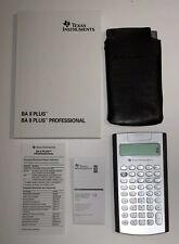 Texas Instruments - Ba Ii Plus Professional Financial Calculator