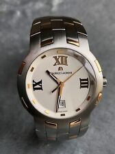 18ct GOLD/STEEL MAURICE LACROIX MENS WATCH