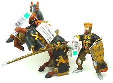 V14) nuevo Papo 39762 caballo con 39761 caballeros león Ritter