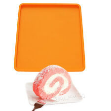 Swiss Roll Cake Mat Flexible Baking Tray Silicone Mold 10x11inch