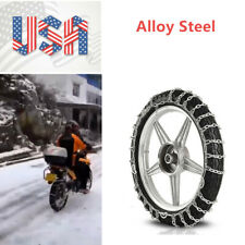 1X Snow Tire Chain For 300-18 Tire Motorcycle Anti-Skid Emergency Winter Driving