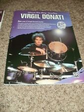 VIRGIL DONATI Ultimate Play-Along DrumTrax  Alfred  Excellent  2 CD