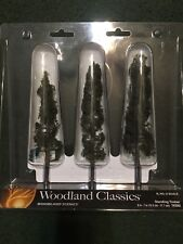 "Woodland Scenics Standing Timber 6"" - 7"" Train Scenery N/HO/O TR3562 NIB"