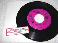 """Paula Abdul """"Blowing Kisses In The Wind / Spellbound"""" 45 RPM, 7"""", +Jukebox Tab"""