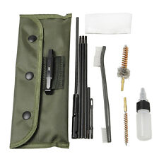 Gun Cleaning Derusting Kit Full Set Clean Brush for .22 Cal 5.56mm Rifles M16 M4