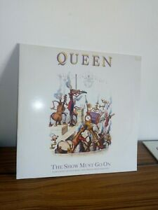 Lp 33 giri QUEEN the show must go on EMI 1991 parlophone vinile VG+ cover EX