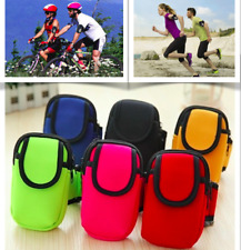 Up to 5 Inch Phones Armbands Sports Gym Running Apple iPhone 8 7 6 6S Galaxy S6