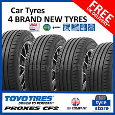 4X New 185 55 15 TOYO PROXES CF2 82H 1855515 185/55R15 *C/B RATED* (4 TYRES)