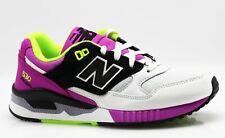 New Balance WL530 Classics Lifestyle Sneaker weiß lila N1/04 Gr. 37,5