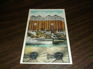 1910's HUDSON TERMINAL AND TUBES PATH UNUSED POST CARD