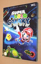 SUPER Mario Galaxy WII soluzione libro/Strategy Guide