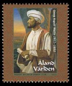 Aland 2011, Finnish Orientalist / Arabia Explorer, Georg August Wallin, MNH/UNM