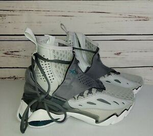 NEW Reebok DMX Elusion 001 FT High Grey Teal EG1935 Basketball Shoes Size 7.5