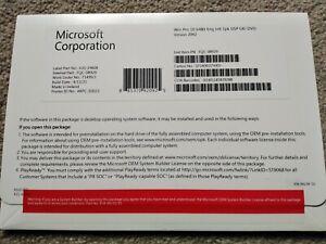 Microsoft Windows 10 Pro New sealed DVD, COA