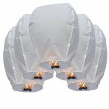 20 Pcs Chinese Sky Fly Fire Paper Lanterns Wish Balloon Wishing Large