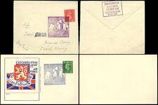 Pre-Decimal Pictorial Cancellation European Stamps
