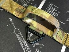 """TACTICAL DOG COLLAR + HANDLE 38mm / 1.5""""  WIDE, COBRA BUCKLE Military MultiCam"""