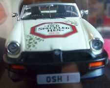 MG MGB 50 Years Old Speckled Hen 1:43 Collector Car Rubber Bumper Rear Fog MGB