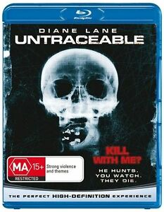 Untraceable (Blu-ray, 2008) Brand New Sealed Free Postage Australia 🇦🇺