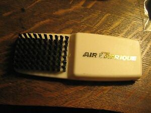 Air Afrique African Airlines Vintage First Class Airplane Amenity Shoe Brush