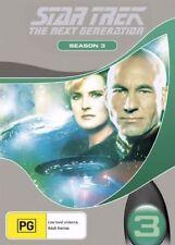 Star Trek Next Generation : Season 3 (DVD, 2006, 7-Disc Set) (D97)