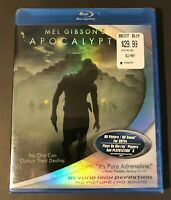 Apocalypto Blu-ray Disc 2007 OOP Original US Release Brand New Sealed Authentic